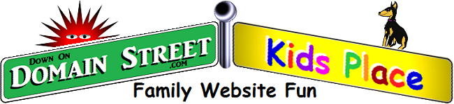 Domain Street banner for Domain Street Kids Place at DownOnDomainStreet.com